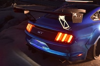 2015 Ford Mustang Blue Chrome Soto 47 Taillights
