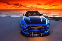 2015 Ford Mustang Blue Chrome Soto 40