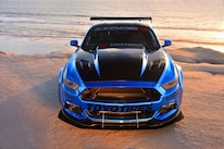 2015 Ford Mustang Blue Chrome Soto 23 Grille Hood