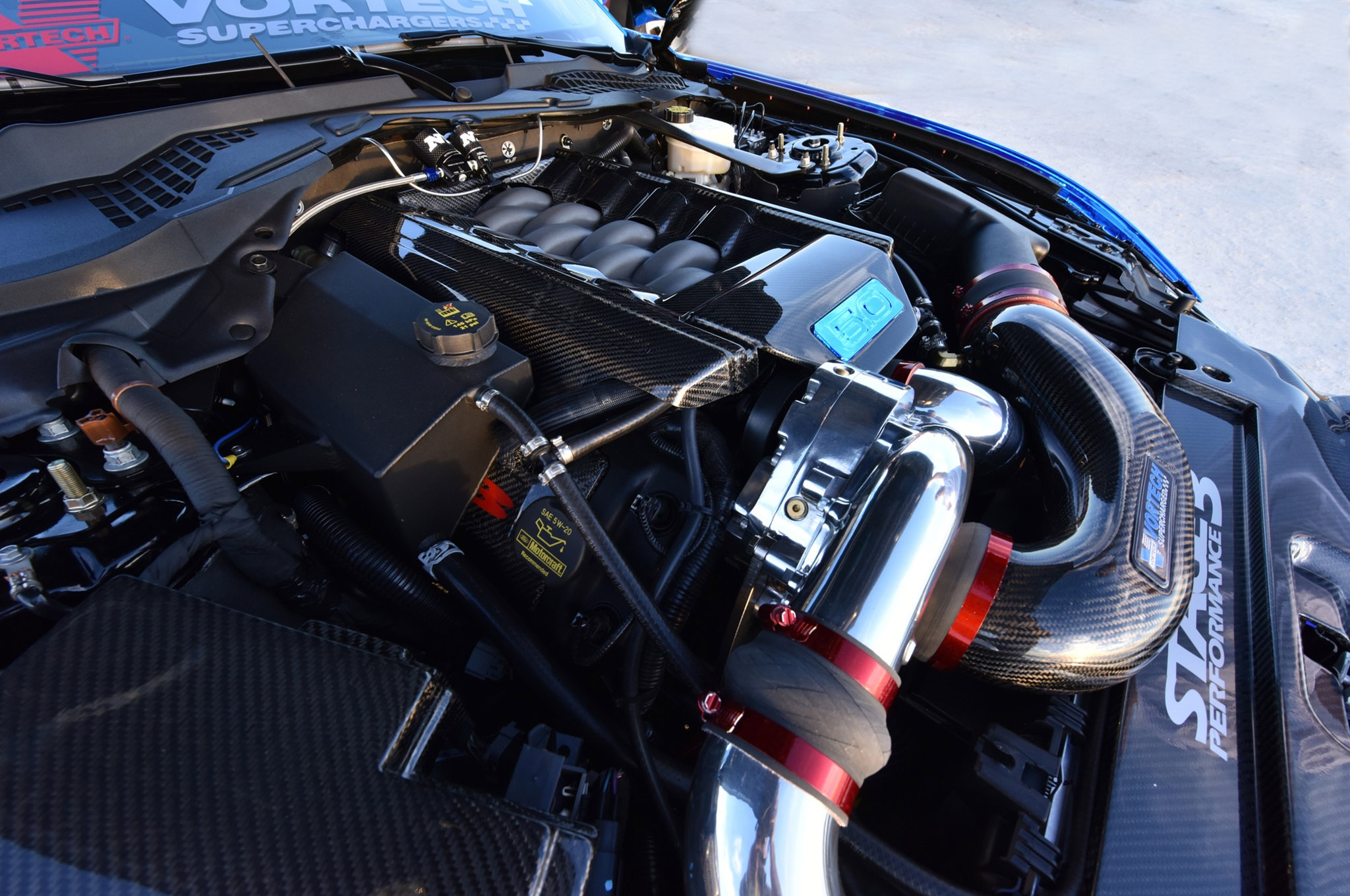 2015 Ford Mustang Blue Chrome Soto 19