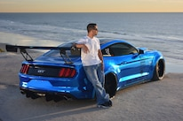 2015 Ford Mustang Blue Chrome Soto 02 Owner