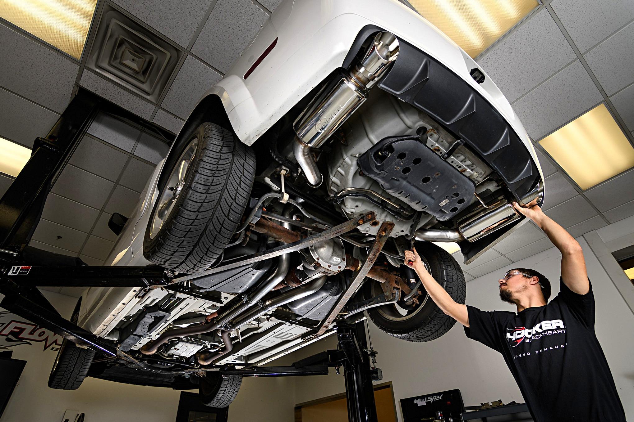 Blackheart Hooker Mustang Gt Exhaust 001