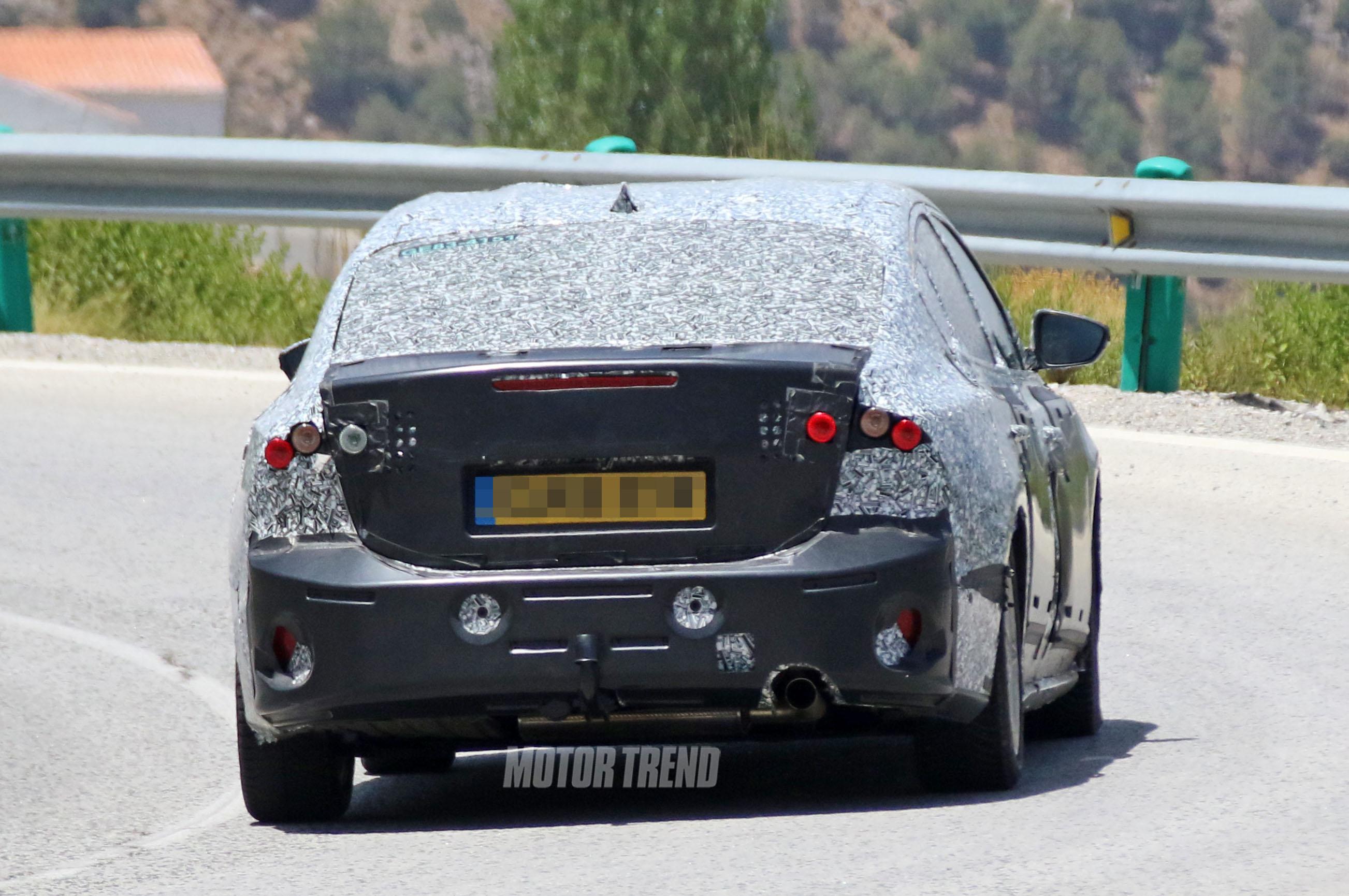 Next Gen Ford Focus Rear Look