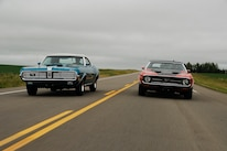 1969 Mercury Cougar And 1971 Ford Mustang Driving 1