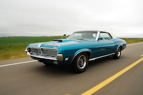 1969 Mercury Cougar Front Three Quarter Alt