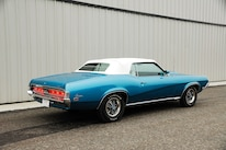 1969 Mercury Cougar Rear Three Quarter Static