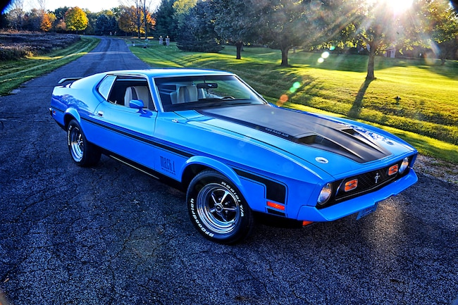 002 Scott Skalitzky 1971 Ford Mustang Mach 1 Cobra Jet