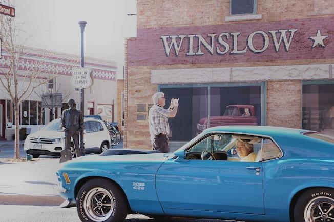 001 Goss 1970 Ford Mustang Boss 429 Drive Winslow Arizona