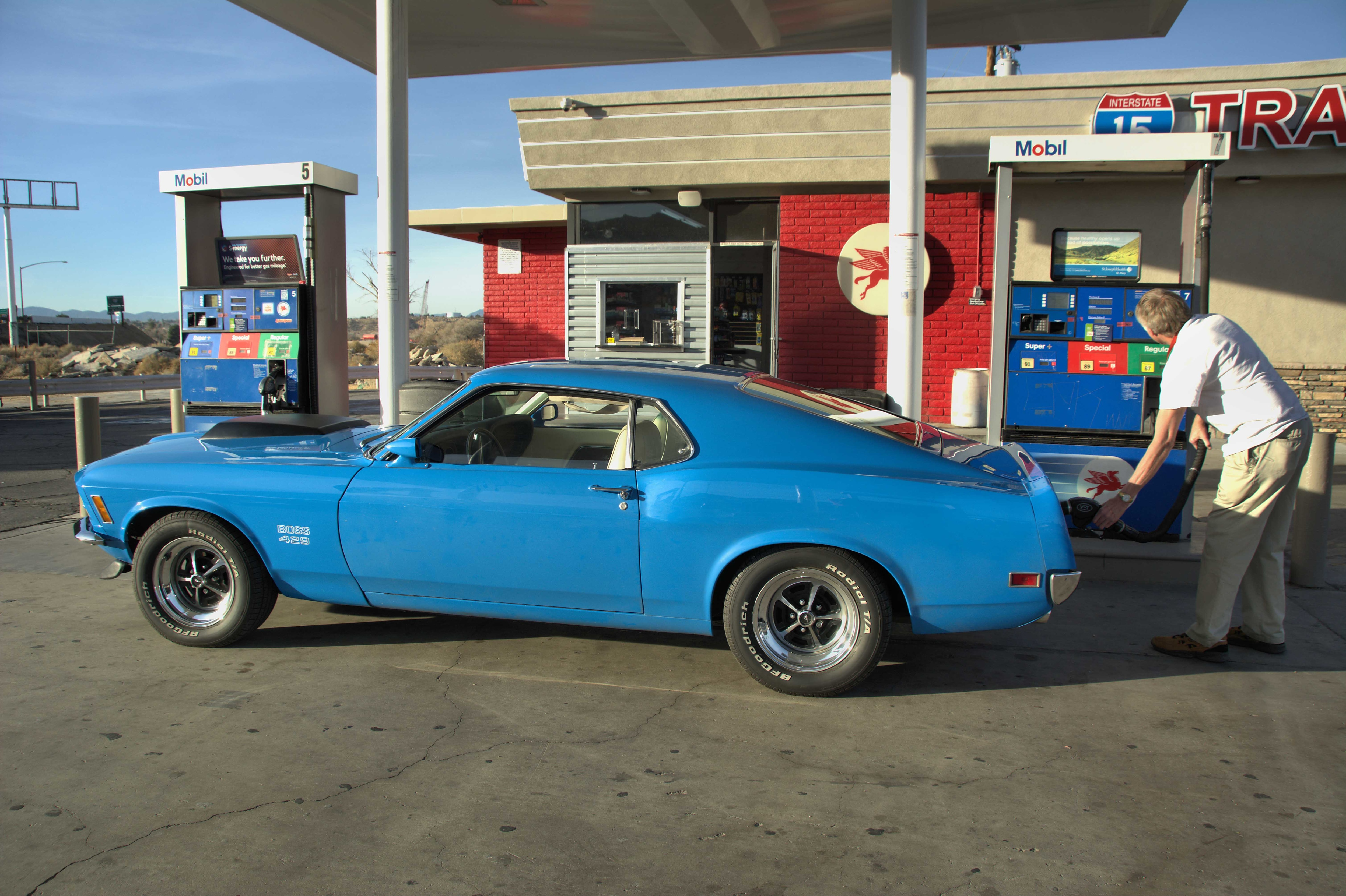009 Goss 1970 Ford Mustang Boss 429 Drive Gas Stop Victorville