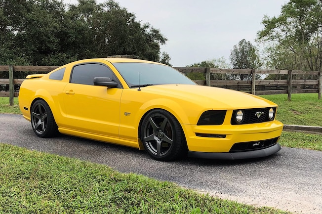 Supercharged 2005 Ford Mustang Krasley