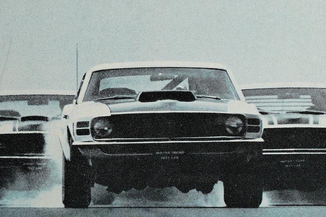 Motor Trend 1970 All The Kings Horses Mustangs Trio