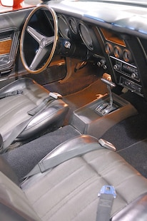 Interior Vertical 1971 Ford Mustang