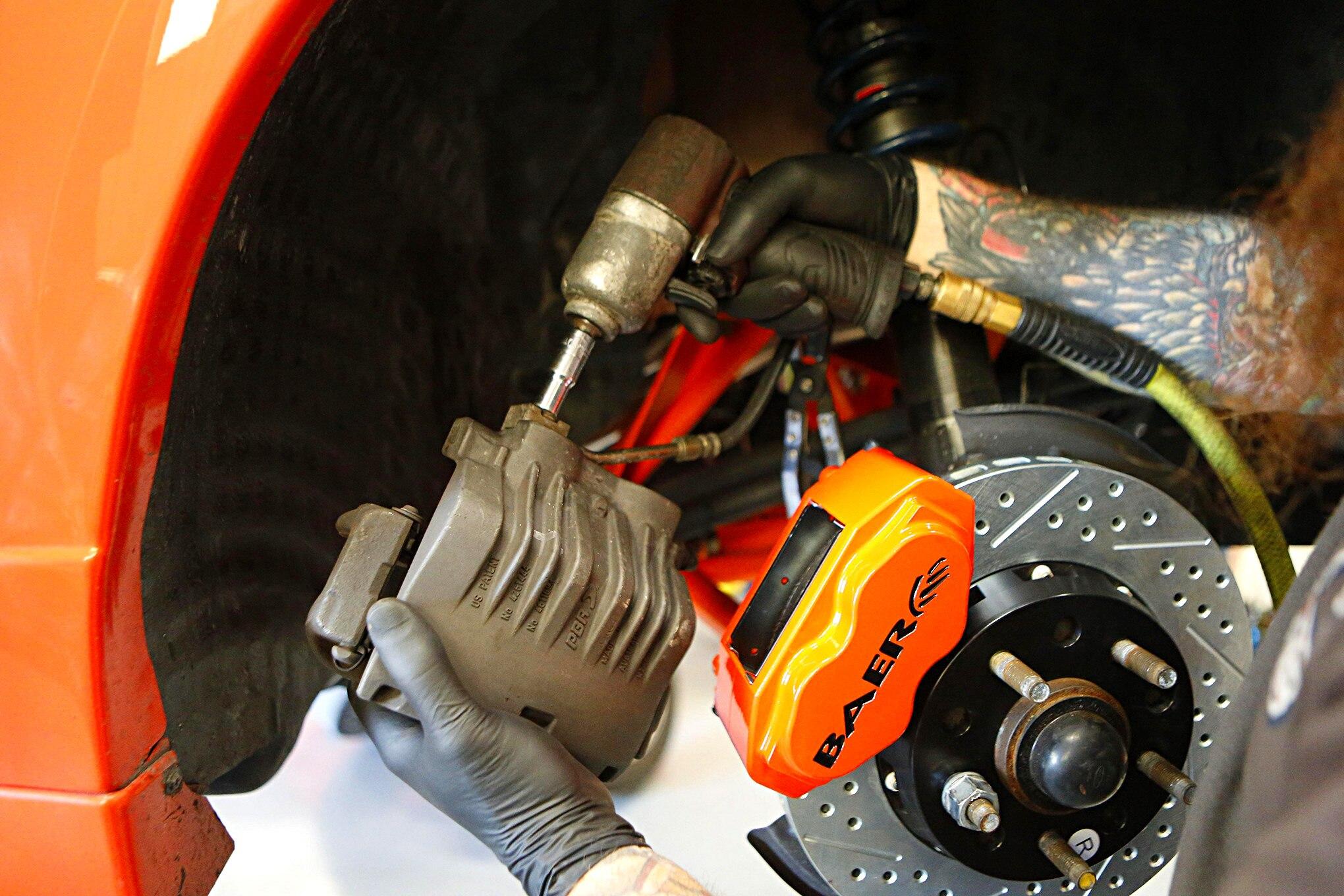 Baer Brakes Install New Edge 015