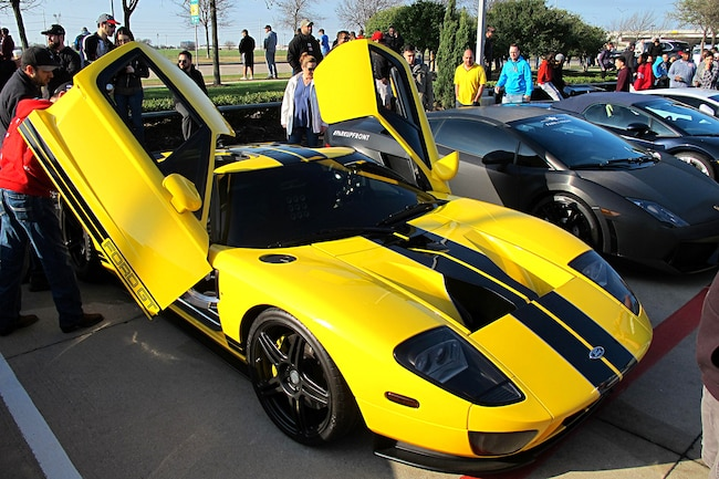 Cars And Coffee Dallas 001 2005 Ford Gt