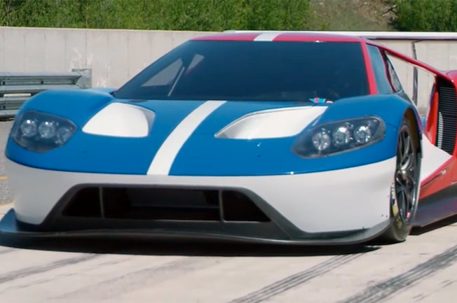 Ford GT Pre 2016 Le Mans Testing Prototype