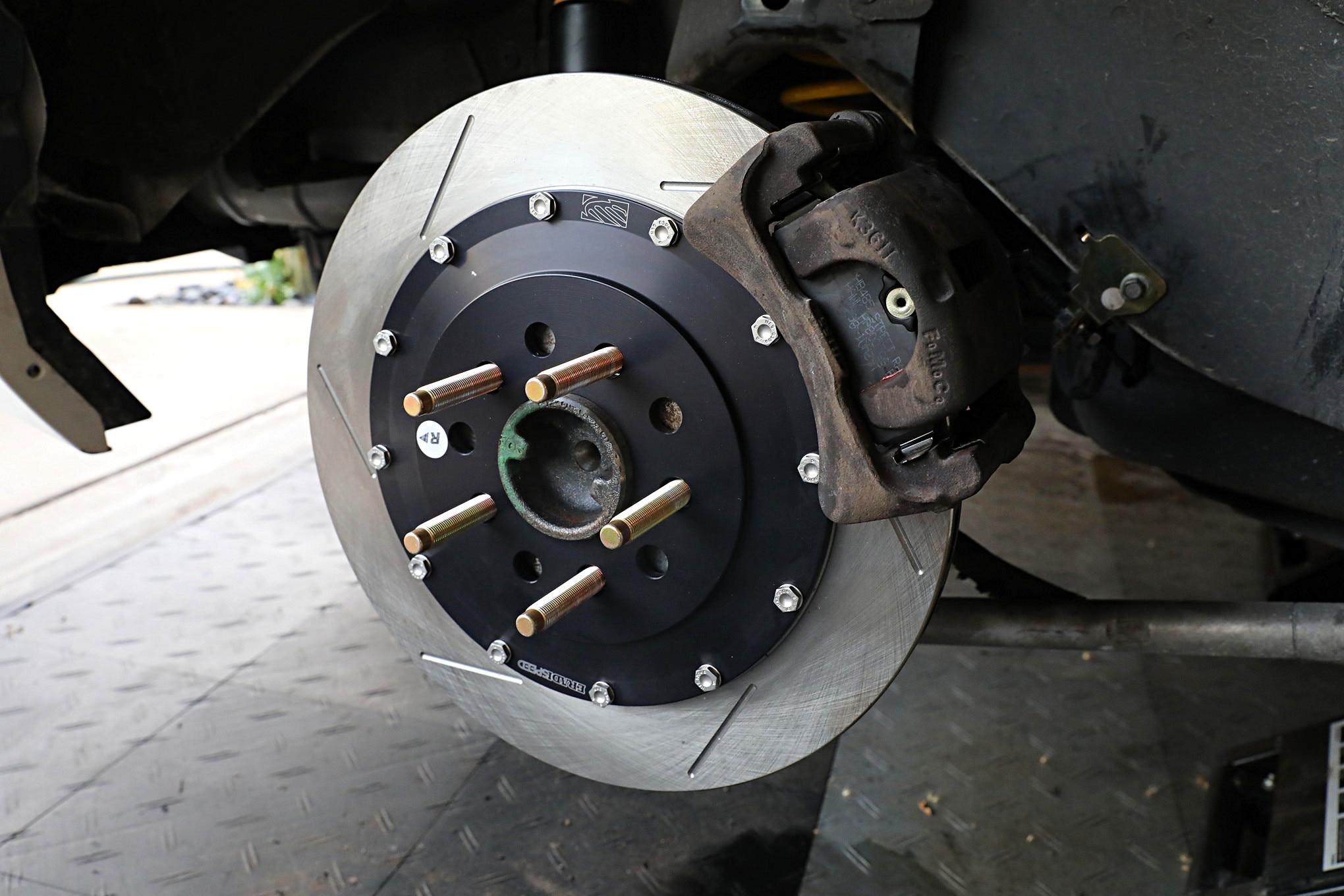 Boss 302 Brake Upgrade 019