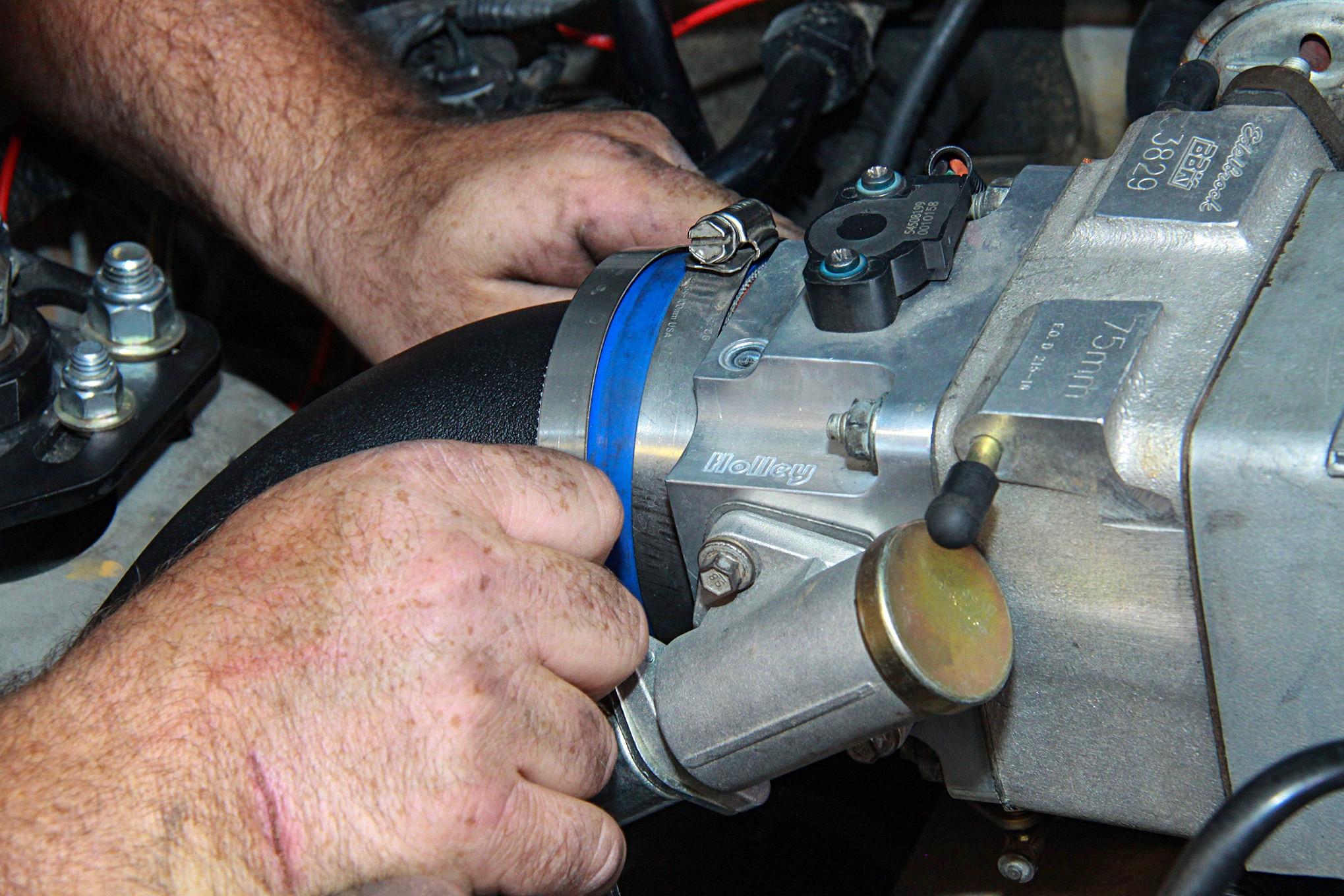 023 Vortech Supercharger Mustang Throttle Body