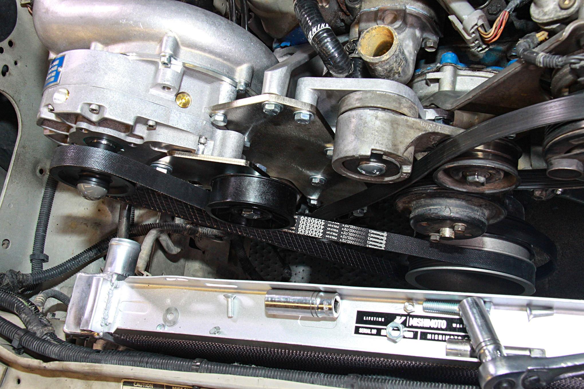 017 Vortech Supercharger Mustang Belt