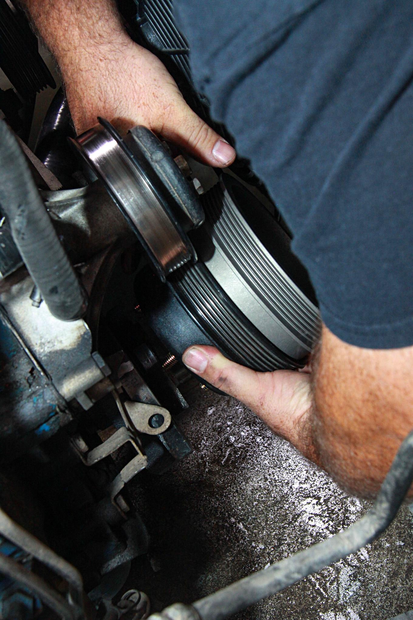 007 Vortech Supercharger Mustang Crankshaft Pulley