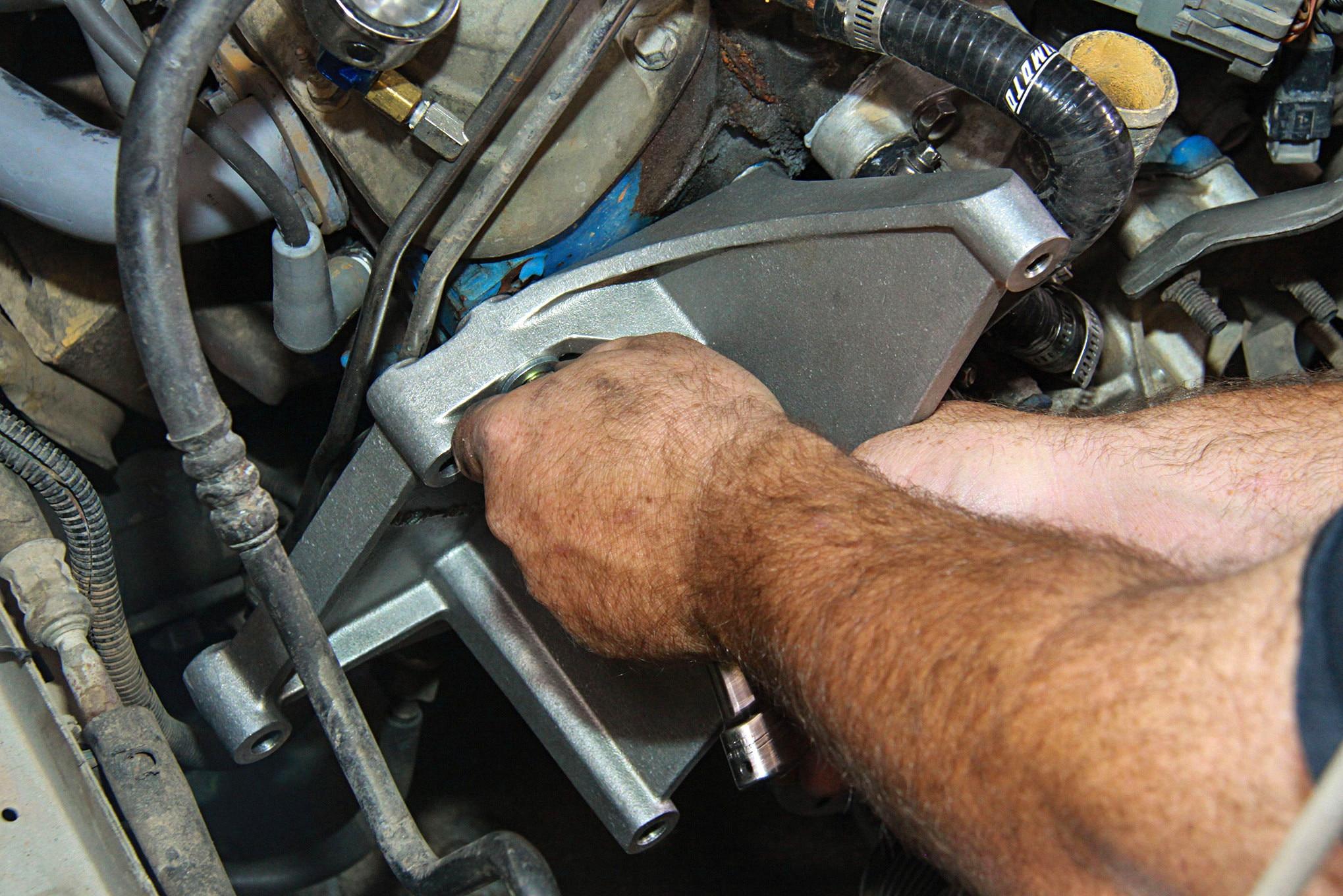 008 Vortech Supercharger Mustang Bracket