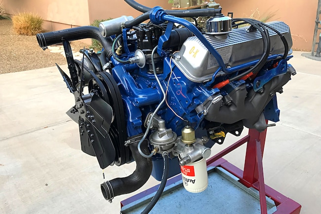 Concours Detailing Cobra Jet Mustang Engine 001