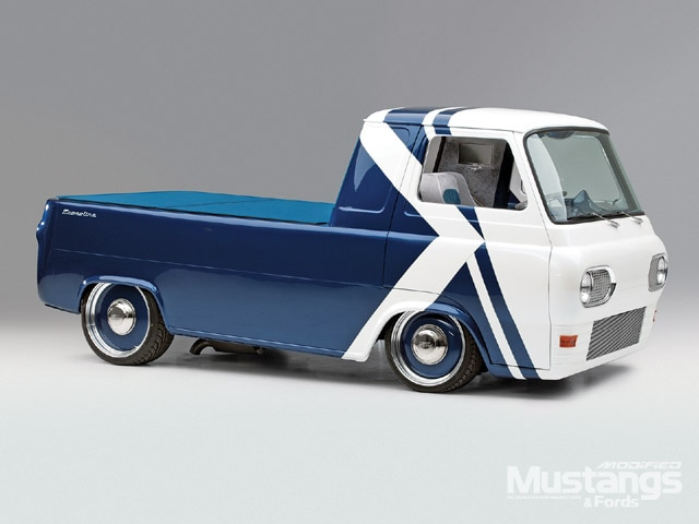 1961 Ford Econoline Pickup Front View
