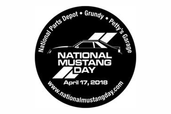 2018 National Mustang Day Logo Decal