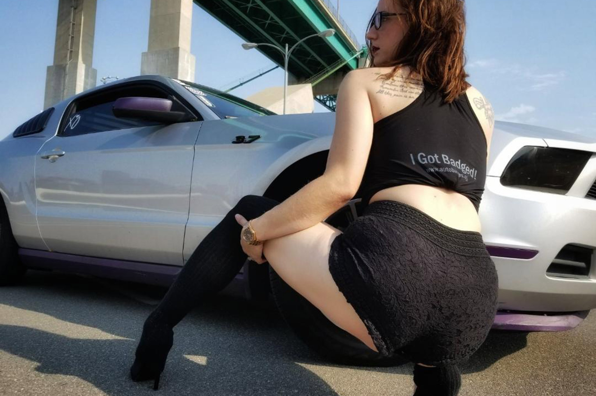 2011 Ford Mustang Ashley Barnes Sinister Society 008