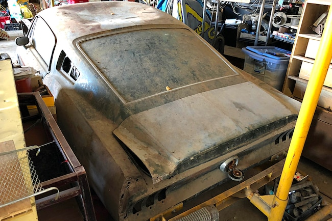 1968 Ford Mustang Fastback Rare Find 001