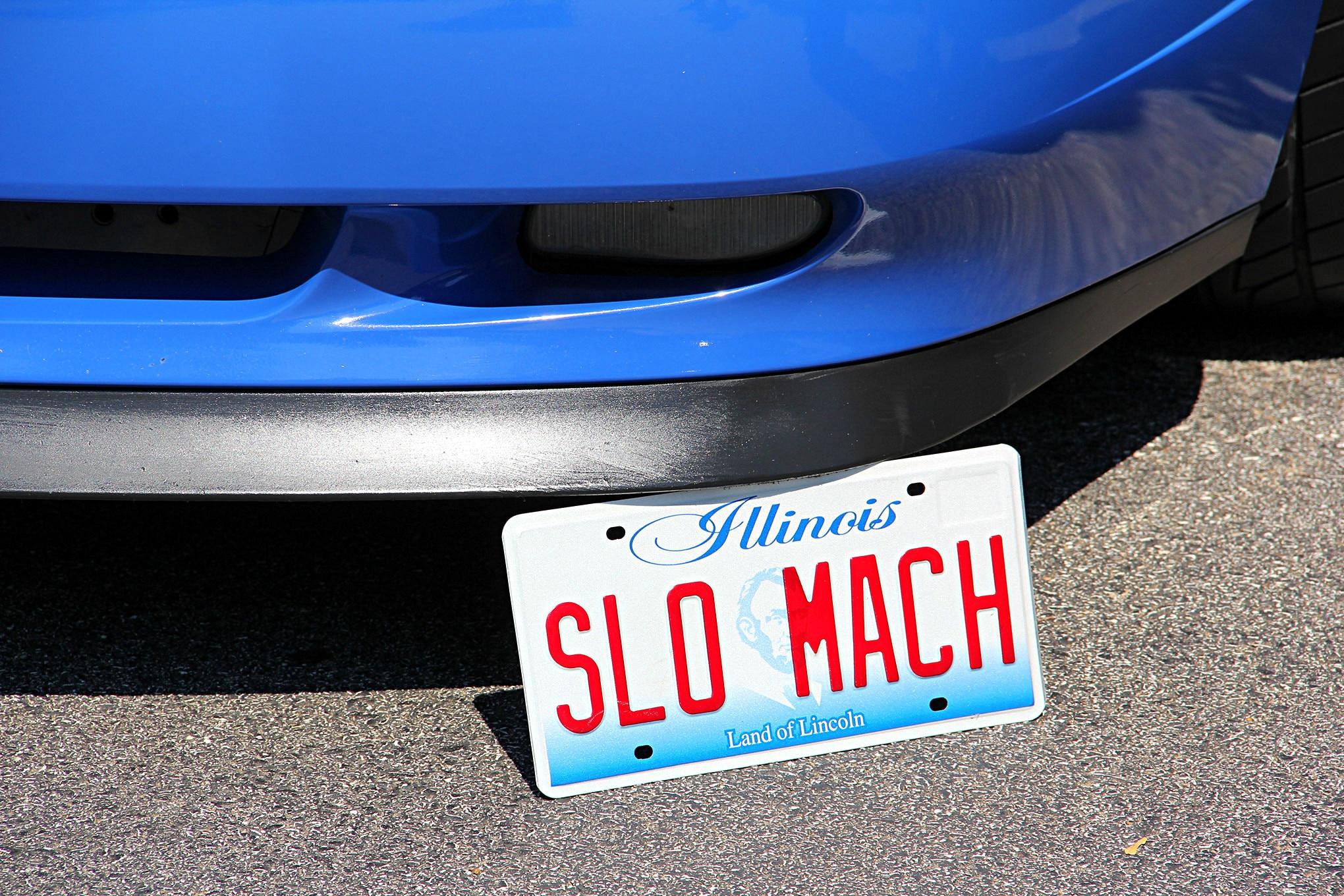 Mustang License Plates 051