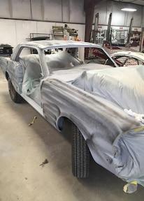 005 1966 Mustang Ashley RSD Bakersfield Primer