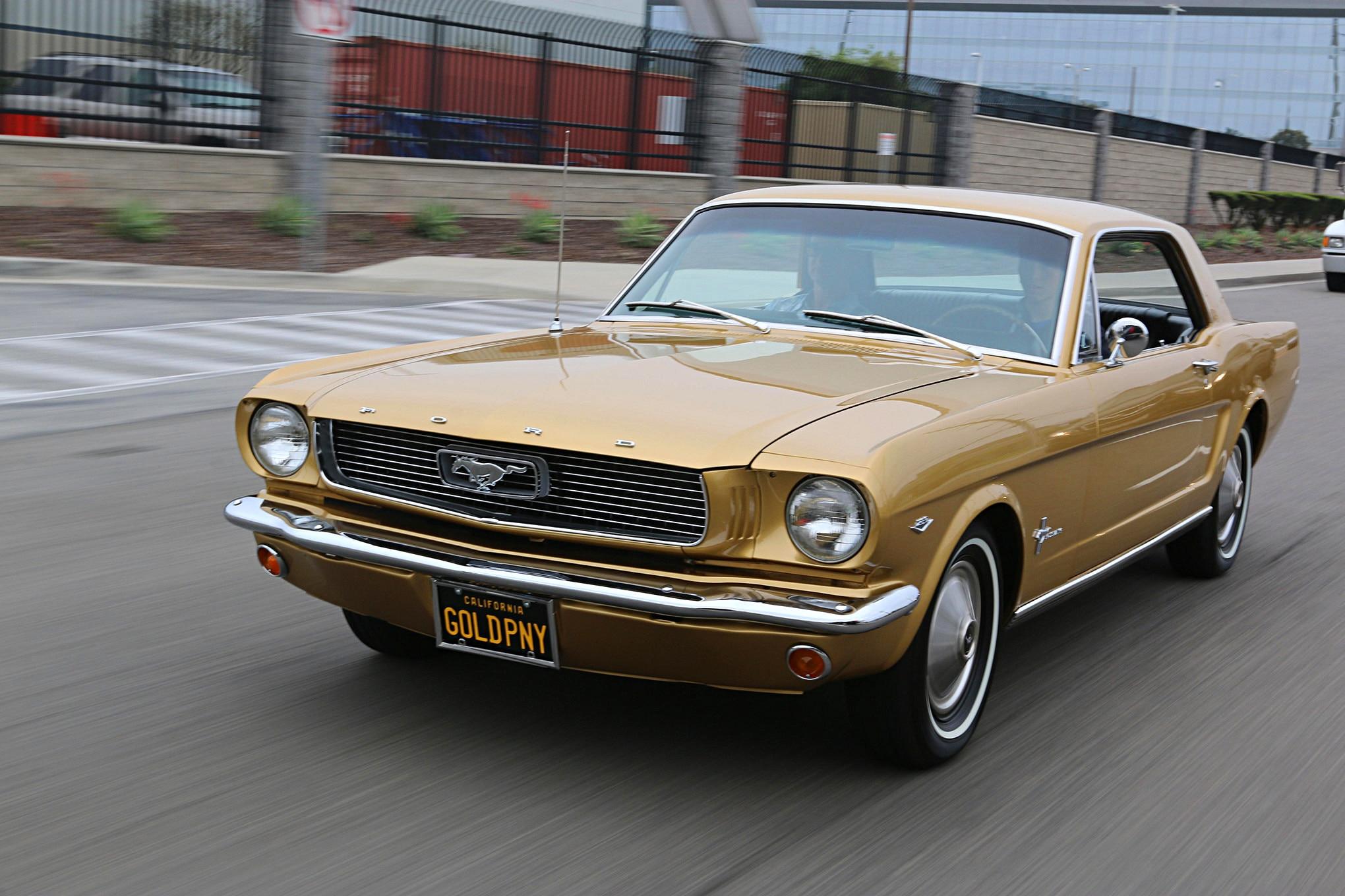Golden Anniversary Mustang 023