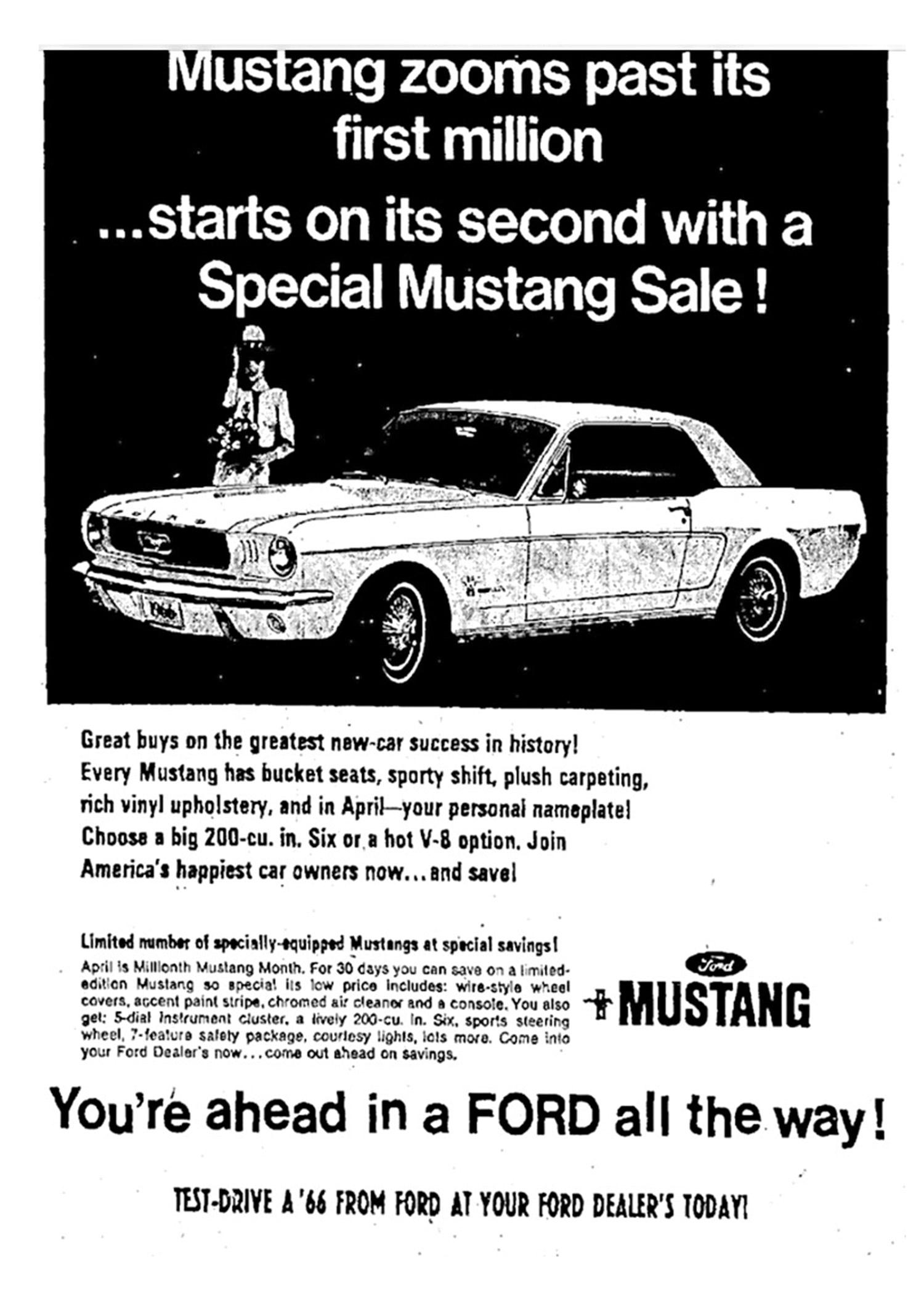 Golden Anniversary Mustang 016