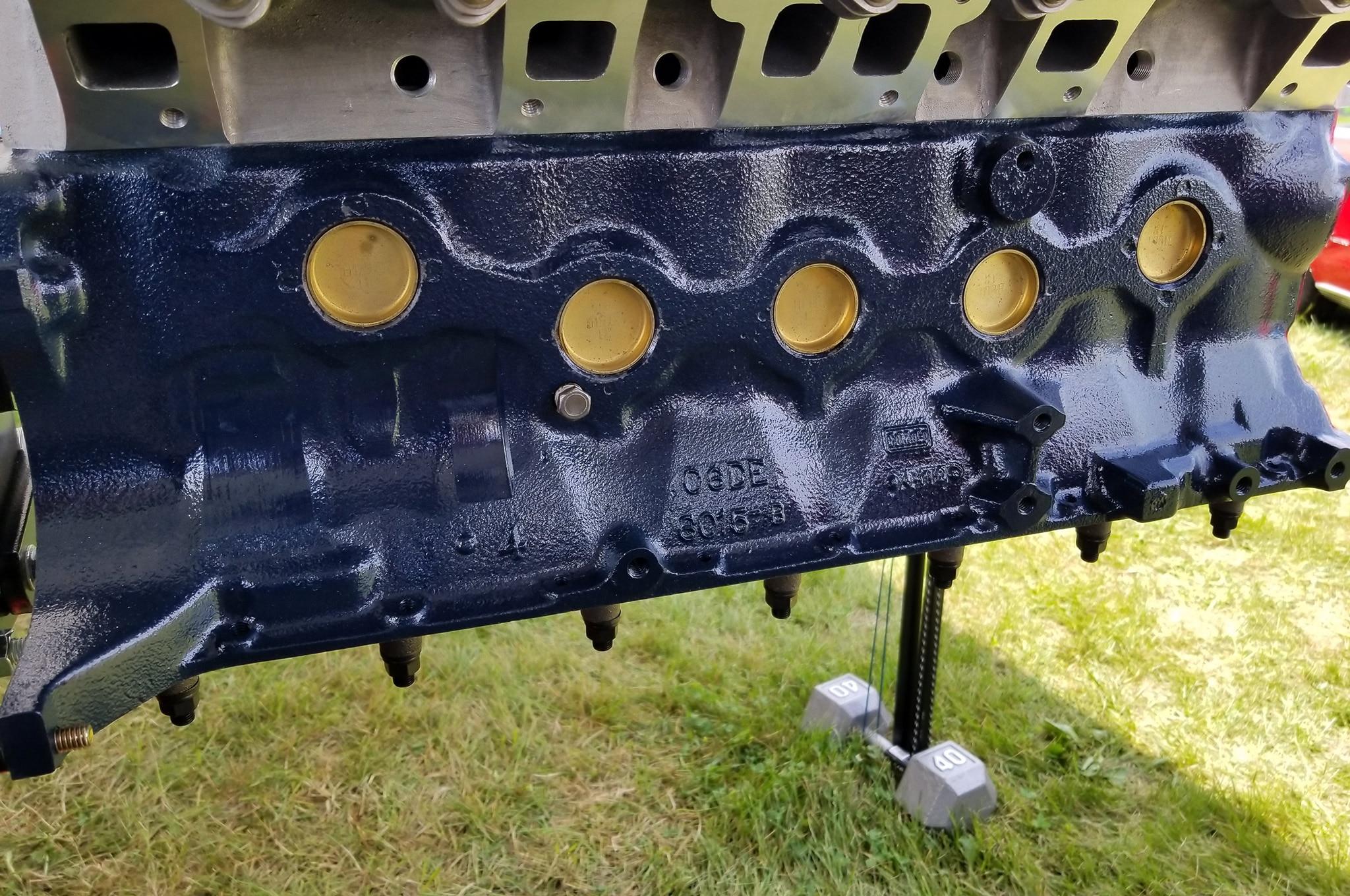 Engine Main Caps