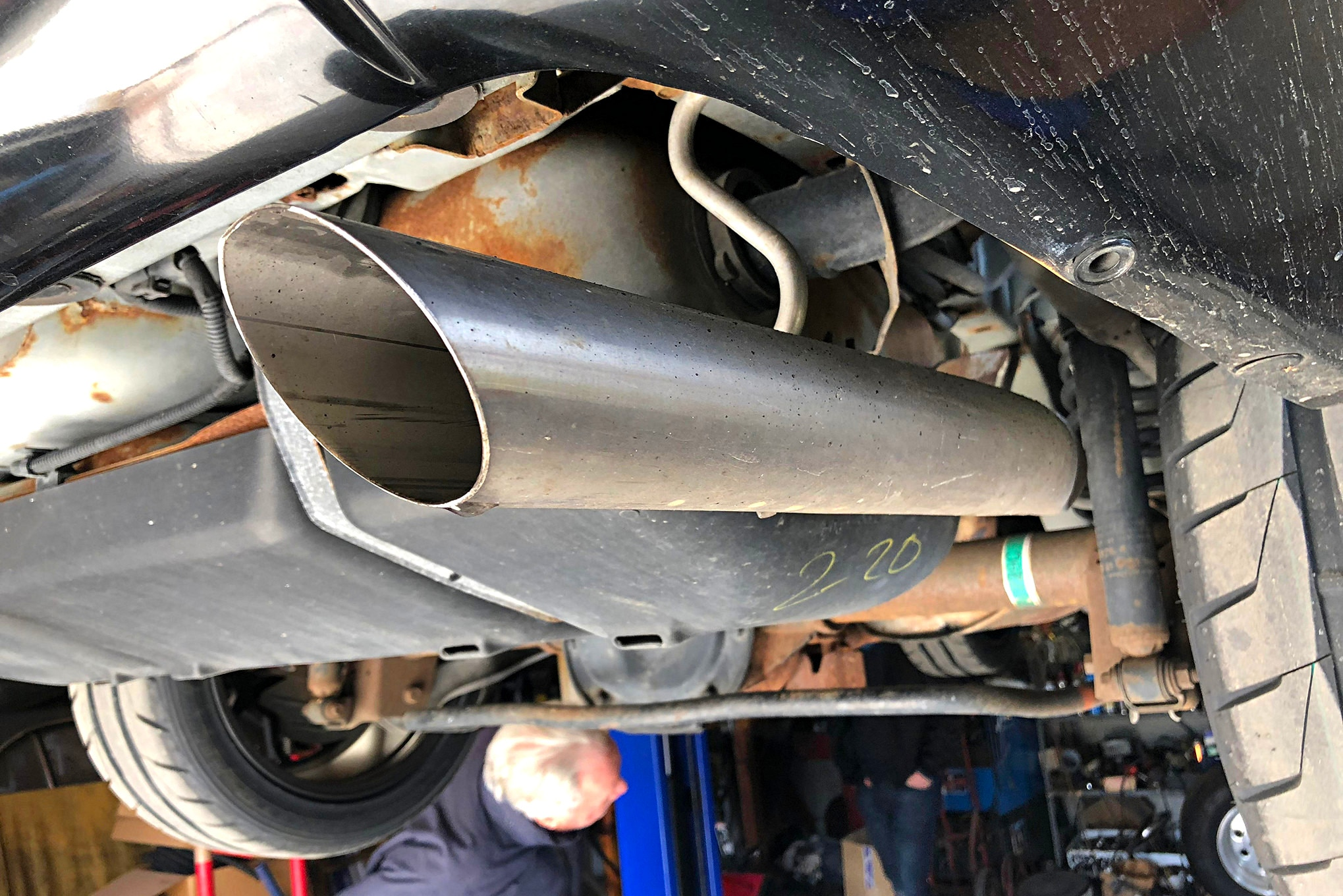 003 1997 Mustang Stock Exhaust Tip