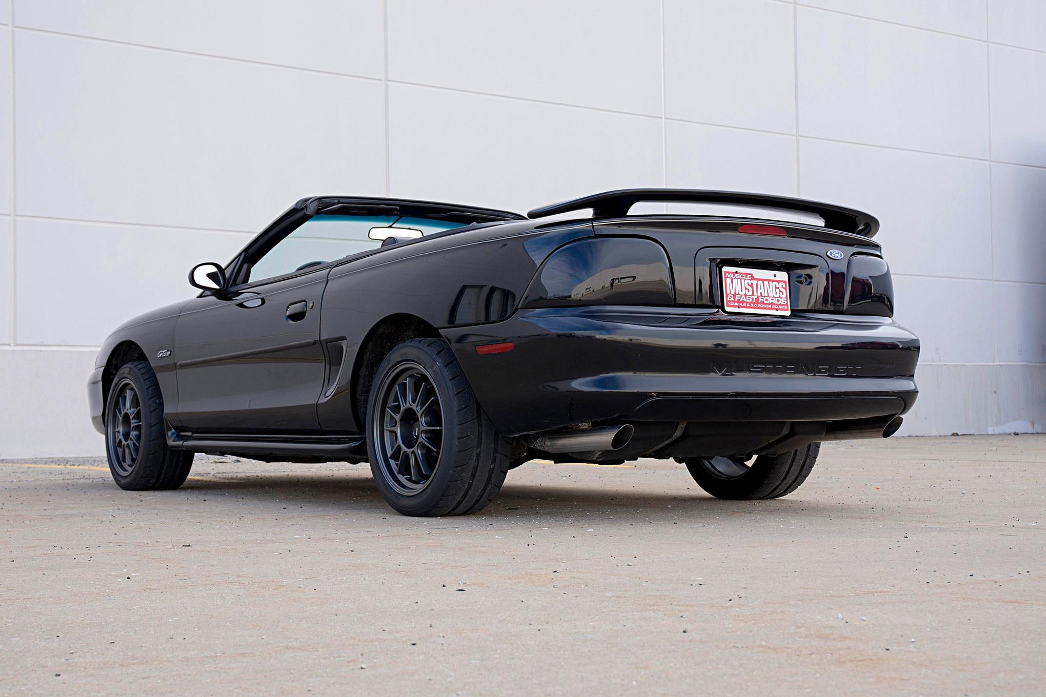 001 1997 Mustang Convertible Hooker Blackheart Exhaust