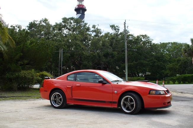 2004 Ford Mustang Mach 1 Red John Lazor