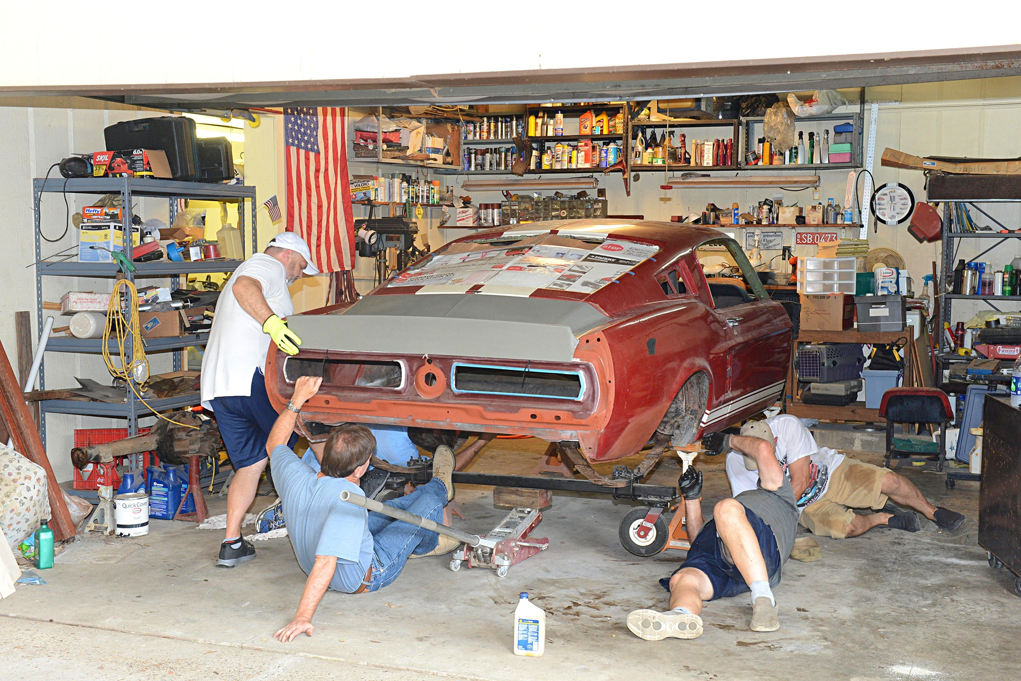 1967 Gt350 Mustang Rare Find 041