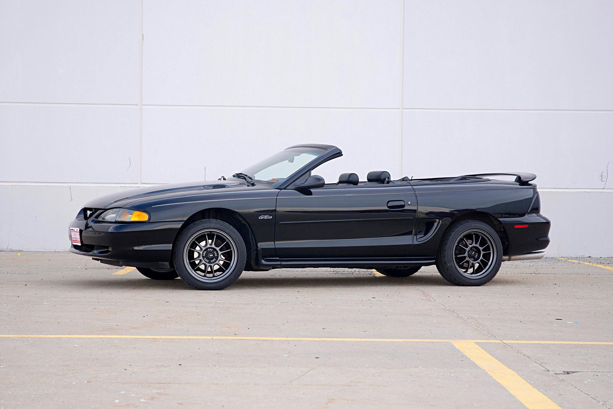 001 1997 Mustang Convertible Koenig Hypergram Wheels