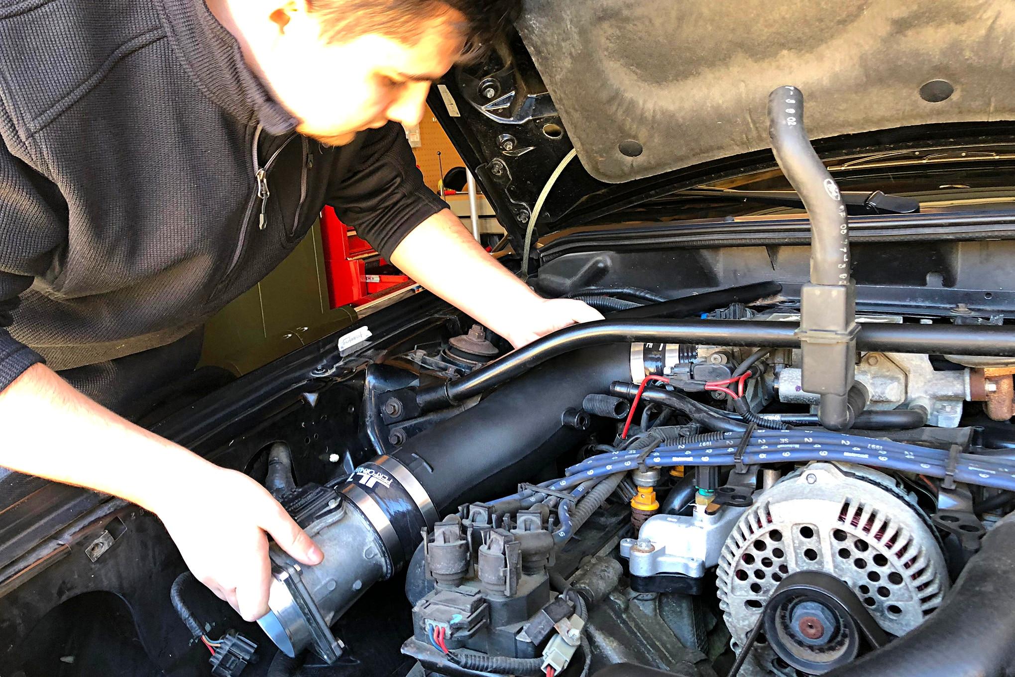 018 1997 Mustang Gt Jlt Ram Air Intake Installation