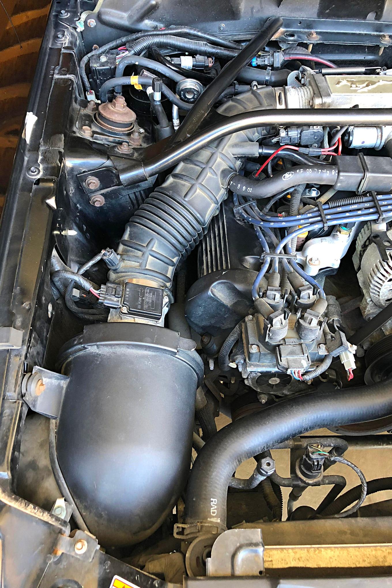 002 1997 Mustang Gt Stock Intake