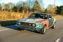 030 1970 Mustang Muscle Rat Rod Basic Muscle Car