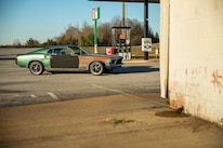026 1970 Mustang Muscle Rat Rod Gas Station South Carolina
