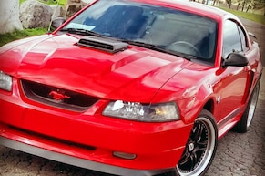 Clean Red 2004 Mach 1