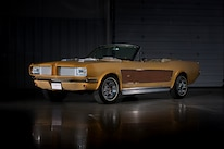 Sonny Cher Ford Mustang Front Quarter Brown