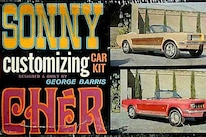 Sonny Cher Ford Mustang Custom Mustang Model Kit