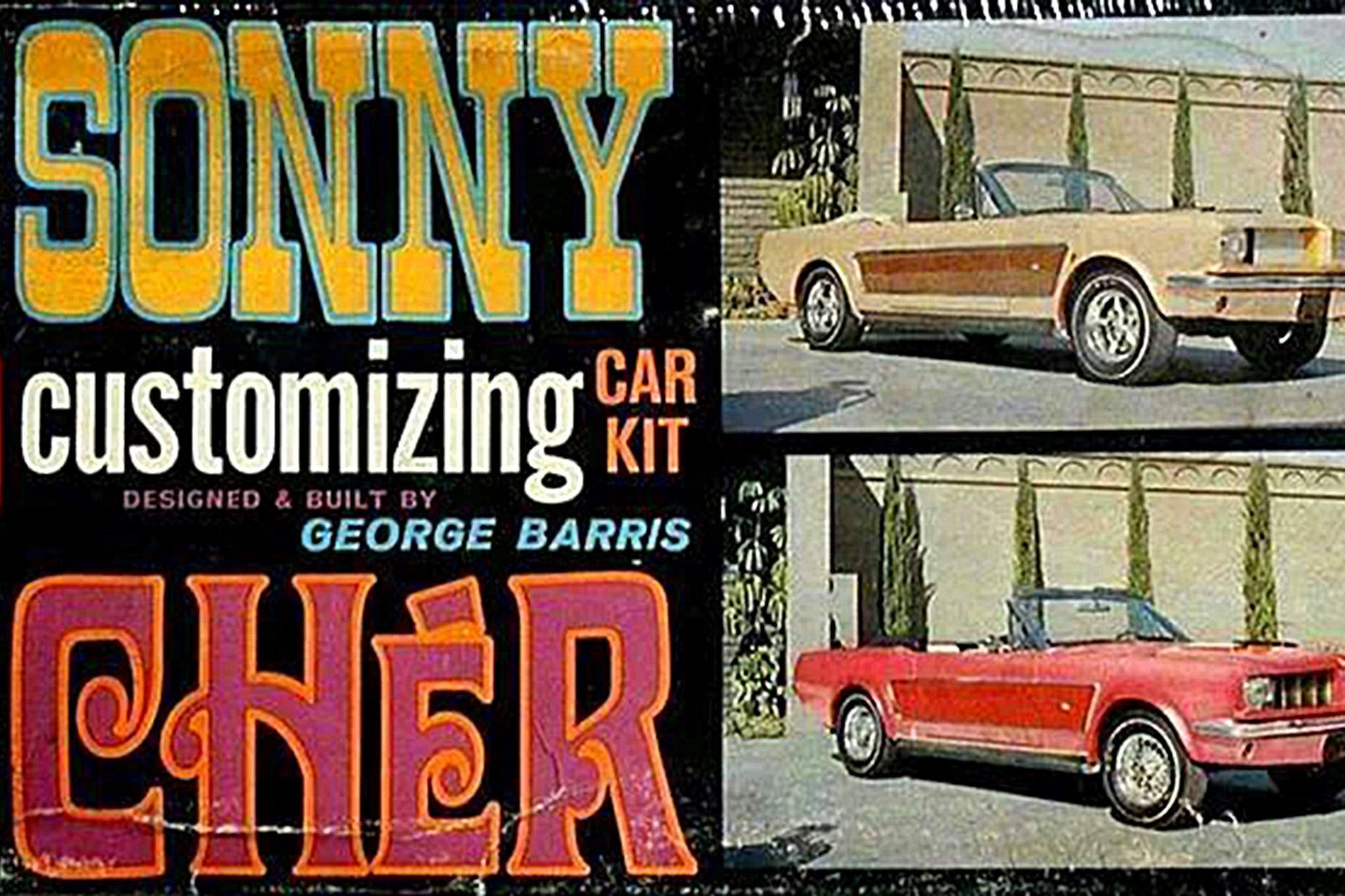 Sonny Cher Ford Mustang Custom Mustang Model Kit