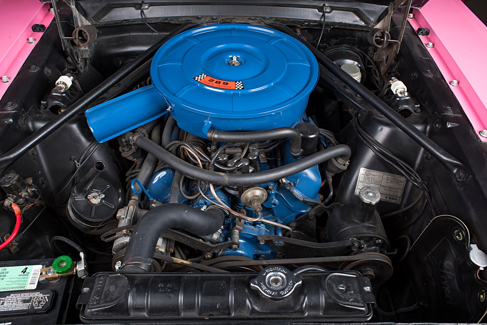 Sonny Cher Ford Mustang Engine