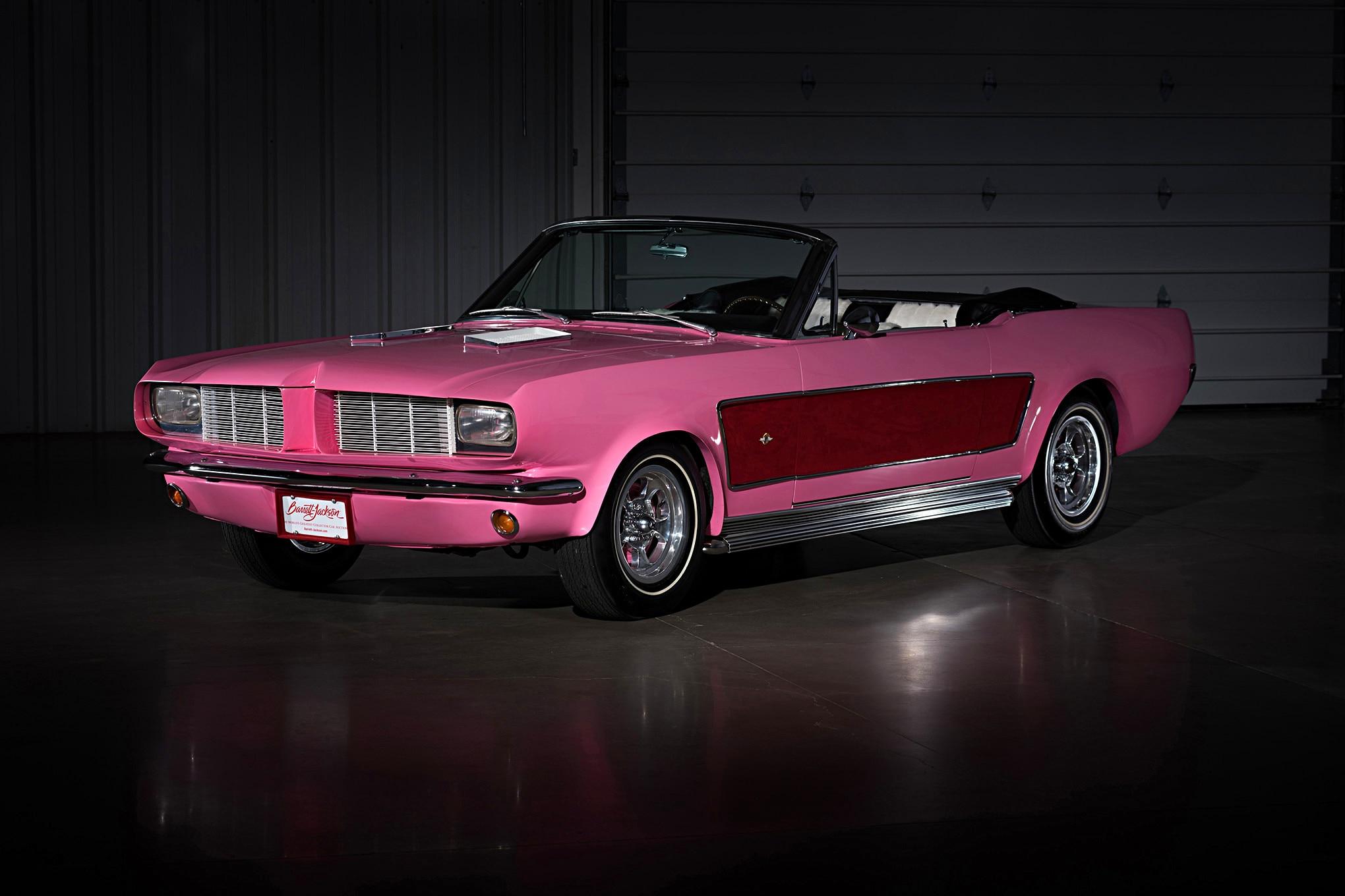 Sonny Cher Ford Mustang Front Quarter