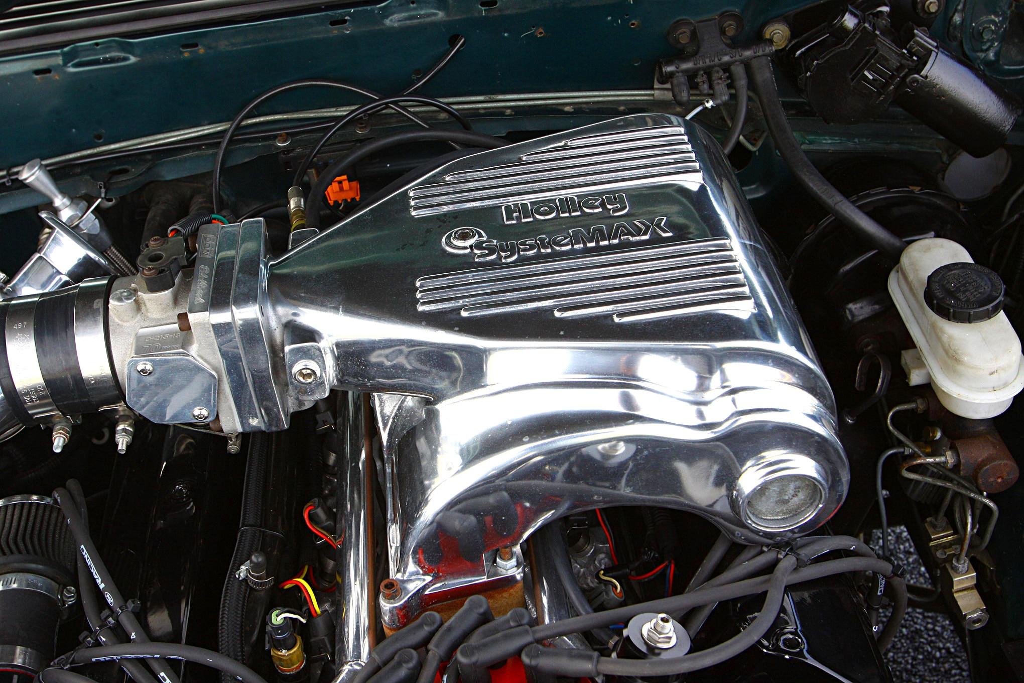 Jean Aiton 1992 Fox Body Engine View